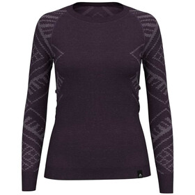 Odlo Suw Natural + Kinship - Ropa interior Mujer - violeta